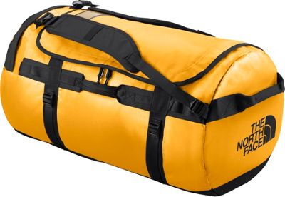 The North Face Base Camp Duffel Large Summit Gold/TNF Black - L - The North Face Outdoor Duffels