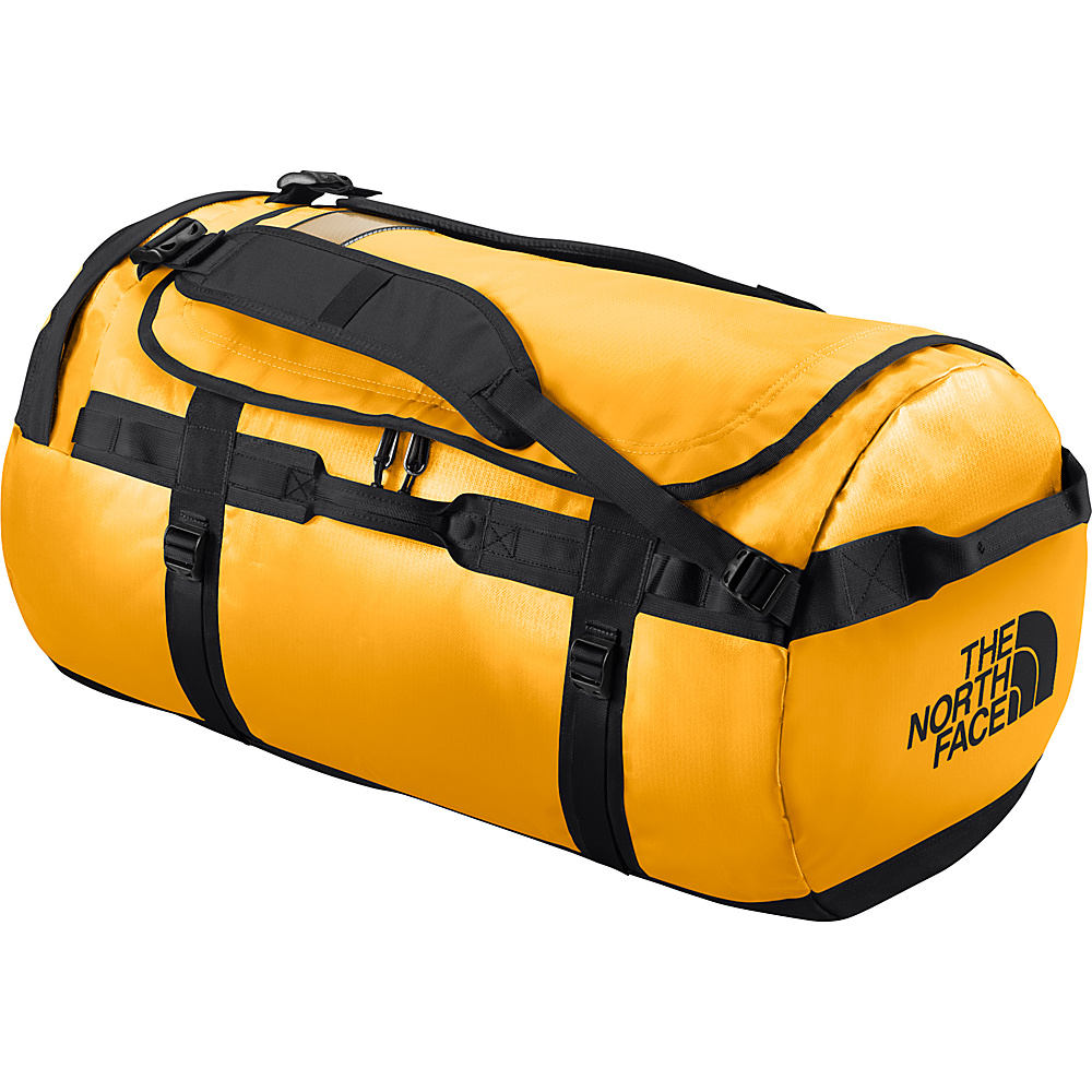 The North Face Base Camp Duffel Large Summit Gold TNF Black L The North Face Outdoor Duffels