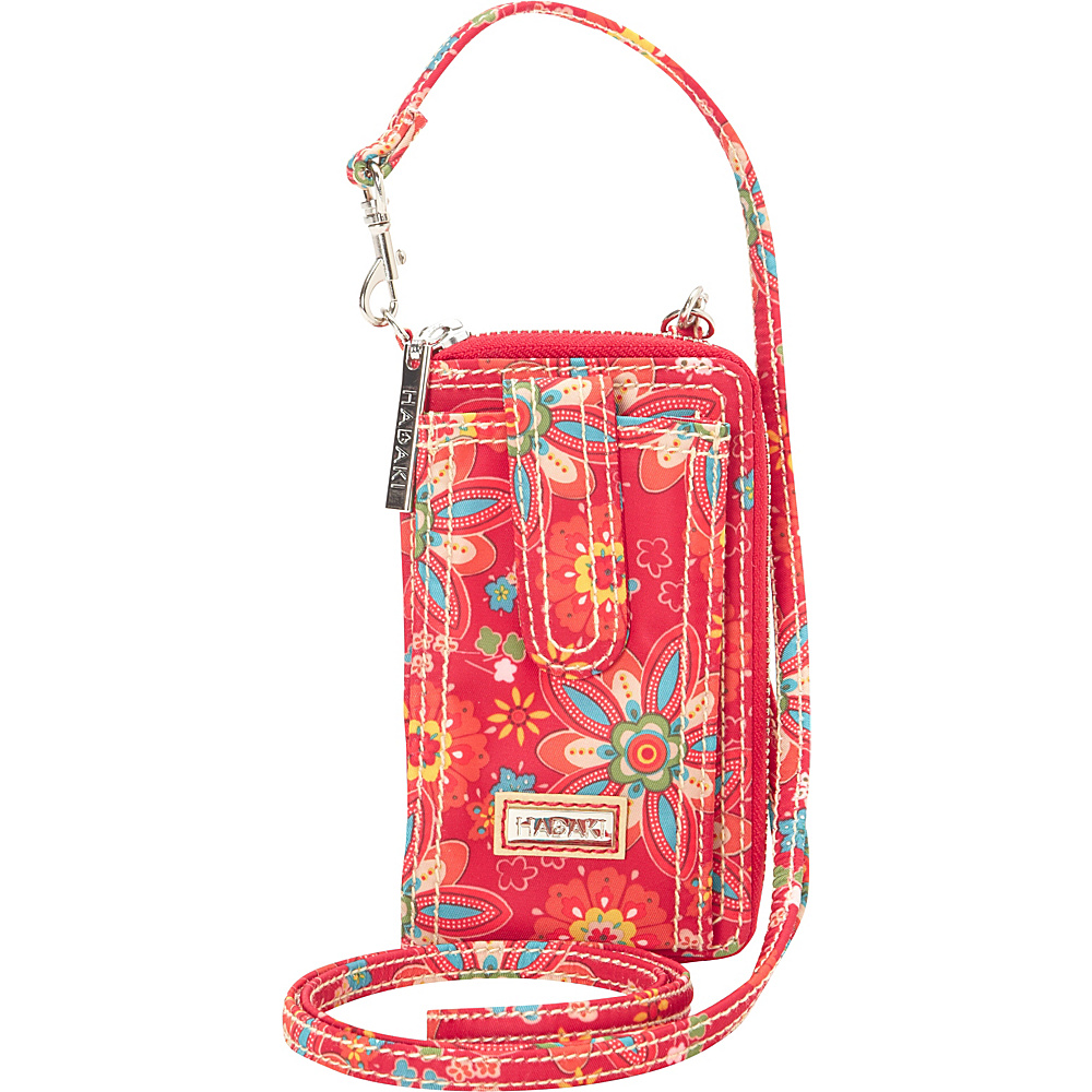 Hadaki Nylon Essentials Cross body Primavera Floral - Hadaki Fabric Handbags - Handbags, Fabric Handbags