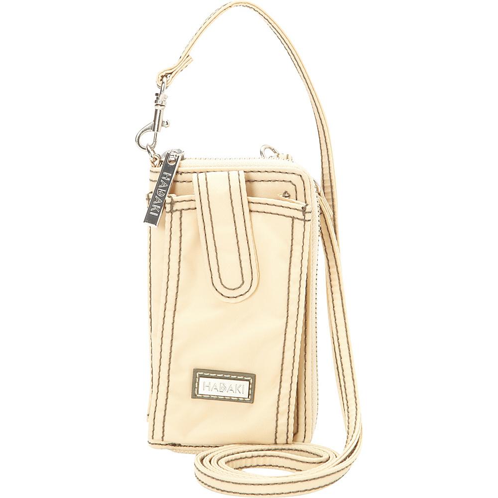 Hadaki Nylon Essentials Cross body Semolina - Hadaki Fabric Handbags - Handbags, Fabric Handbags