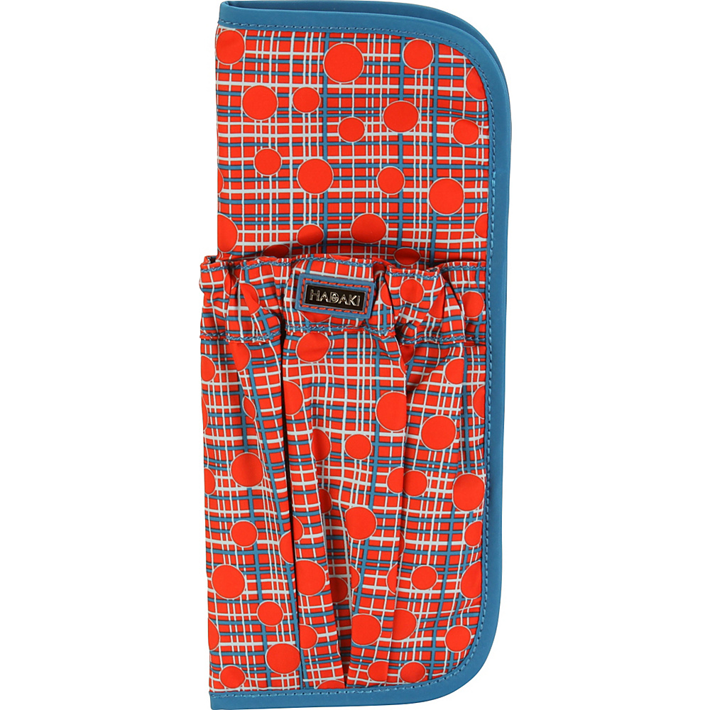 Hadaki Hot Curls Pod Fiery Red Plaid - Hadaki Travel Health & Beauty - Travel Accessories, Travel Health & Beauty