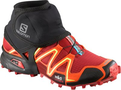 Salomon Trail Gaiters Black -S - Salomon Sport Bags