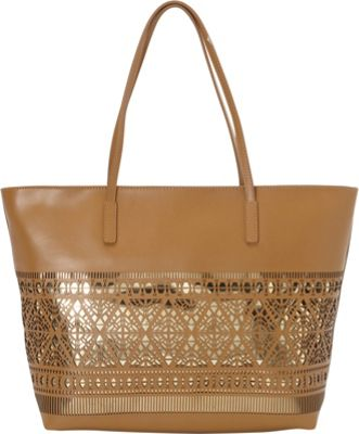 Vince Camuto Lila Tote Rich Auburn - Vince Camuto Designer Handbags
