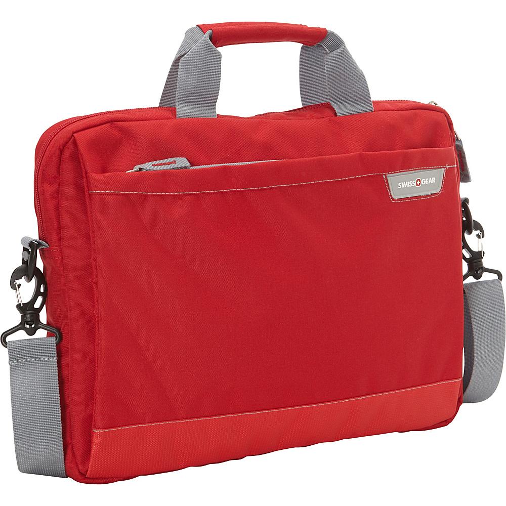 SwissGear Travel Gear Laptop Sleeve Red SwissGear Travel Gear Electronic Cases