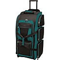 "Travelers Club Luggage 30"" Multi-Pocket Upright Duffel"