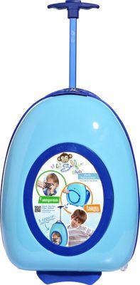Travelers Club Luggage 16 inch Selfie Kids' Personalized Carry-On Sky Blue - Travelers Club Luggage Hardside Carry-On