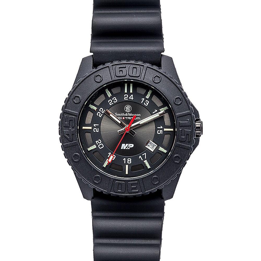 Smith & Wesson Watches M & P Swiss Tritium H3 Watch Black - Smith & Wesson Watches Watches