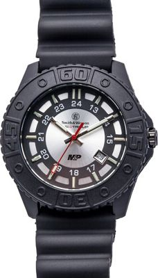 Smith & Wesson Watches M&P Swiss Tritium H3 Watch Grey - Smith & Wesson Watches Watches