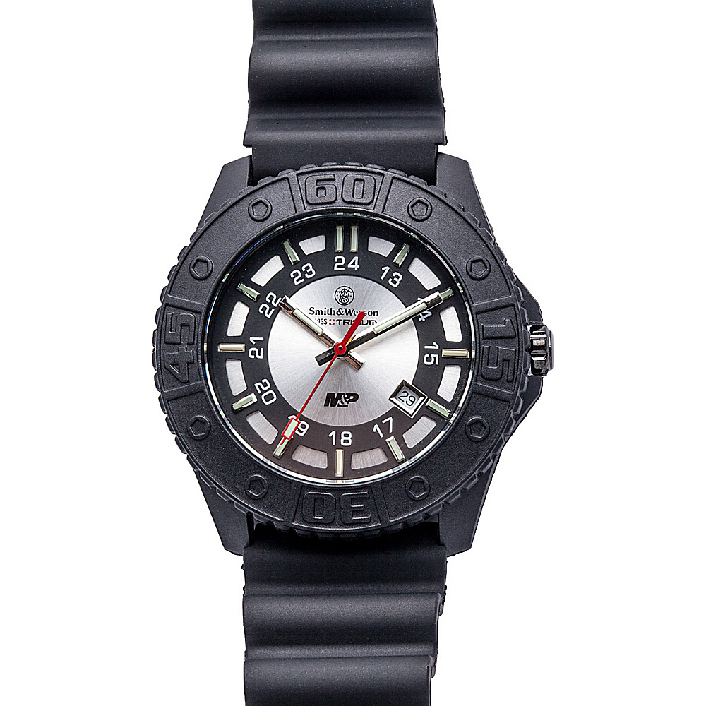 Smith & Wesson Watches M & P Swiss Tritium H3 Watch Grey - Smith & Wesson Watches Watches
