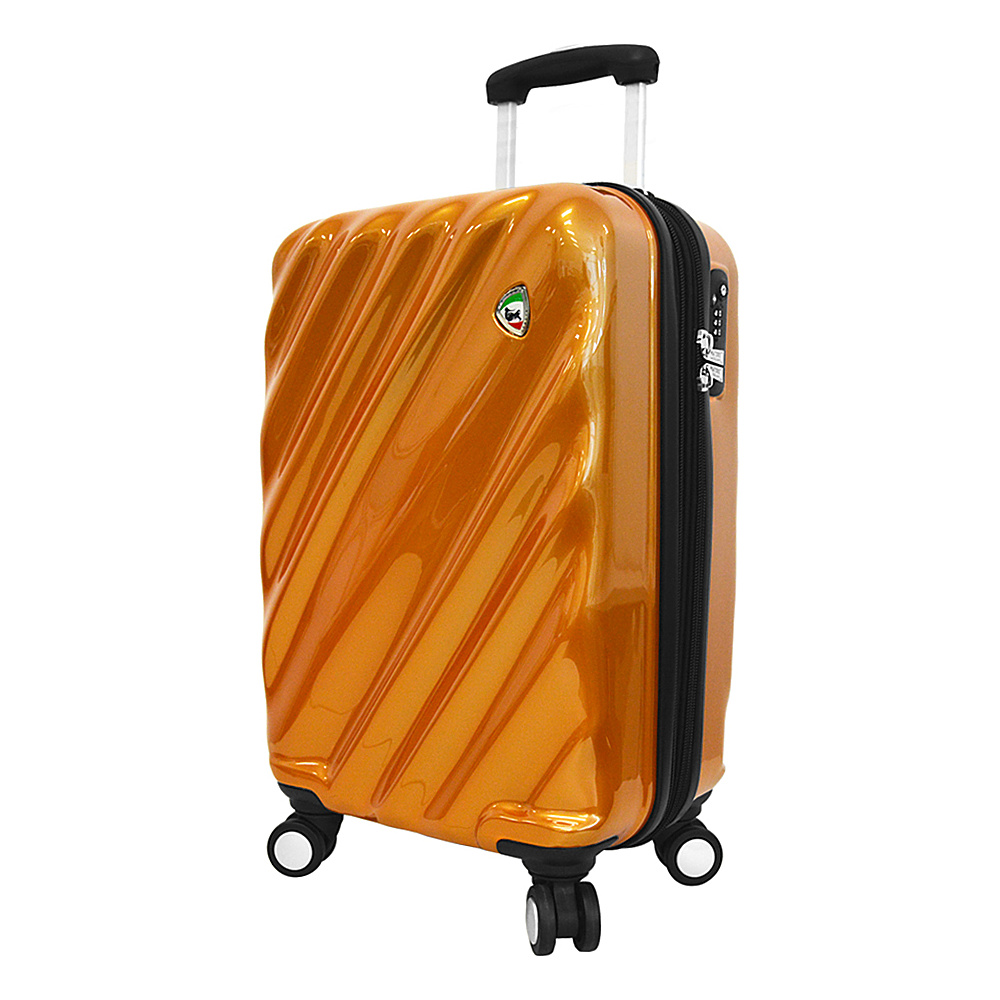 Mia Toro ITALY Onda Fusion Hardside 24 Spinner Orange Mia Toro ITALY Hardside Checked