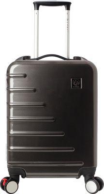 Travelers Club Luggage Zephyr 20 inch Seat-On Carry-On Charcoal - Travelers Club Luggage Kids' Luggage