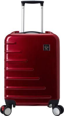 Travelers Club Luggage Zephyr 20 inch Seat-On Carry-On Burgundy - Travelers Club Luggage Kids' Luggage