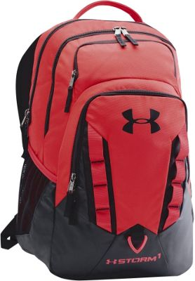Under Armour Recruit Backpack Red/Black/Black - Under Armour Business & Laptop Backpacks