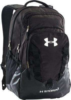 Under Armour Recruit Backpack Black/Steel/Silver - Under Armour Business & Laptop Backpacks