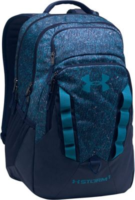 Under Armour Recruit Backpack Midnight Navy / Bayou Blue - Under Armour Business & Laptop Backpacks