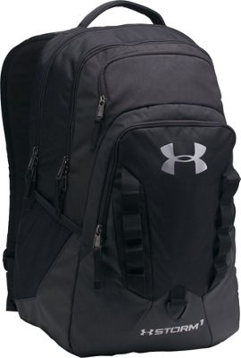 Under Armour Recruit Backpack Black/Steel - Under Armour Business & Laptop Backpacks