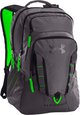 Under Armour Recruit Backpack Graphite/Hyper Green/Black - Under Armour Business & Laptop Backpacks
