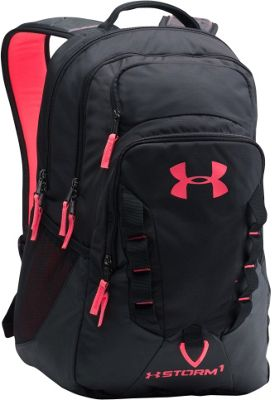 Under Armour Recruit Backpack Black/Black/Pink Chroma - Under Armour Business & Laptop Backpacks 10452092