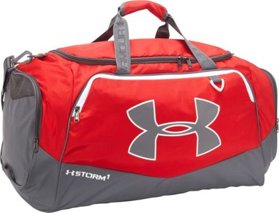 Under Armour Undeniable LG Duffel II Red/Graphite/White - Under Armour Gym Duffels 10366609