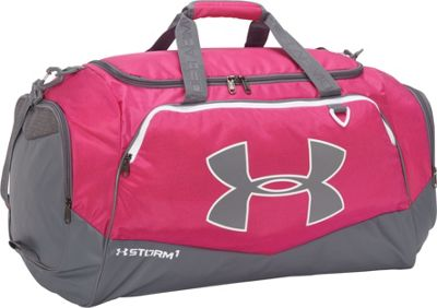 Under Armour Undeniable LG Duffel II Tropic Pink/Graphite/White - Under Armour Gym Duffels 10366612