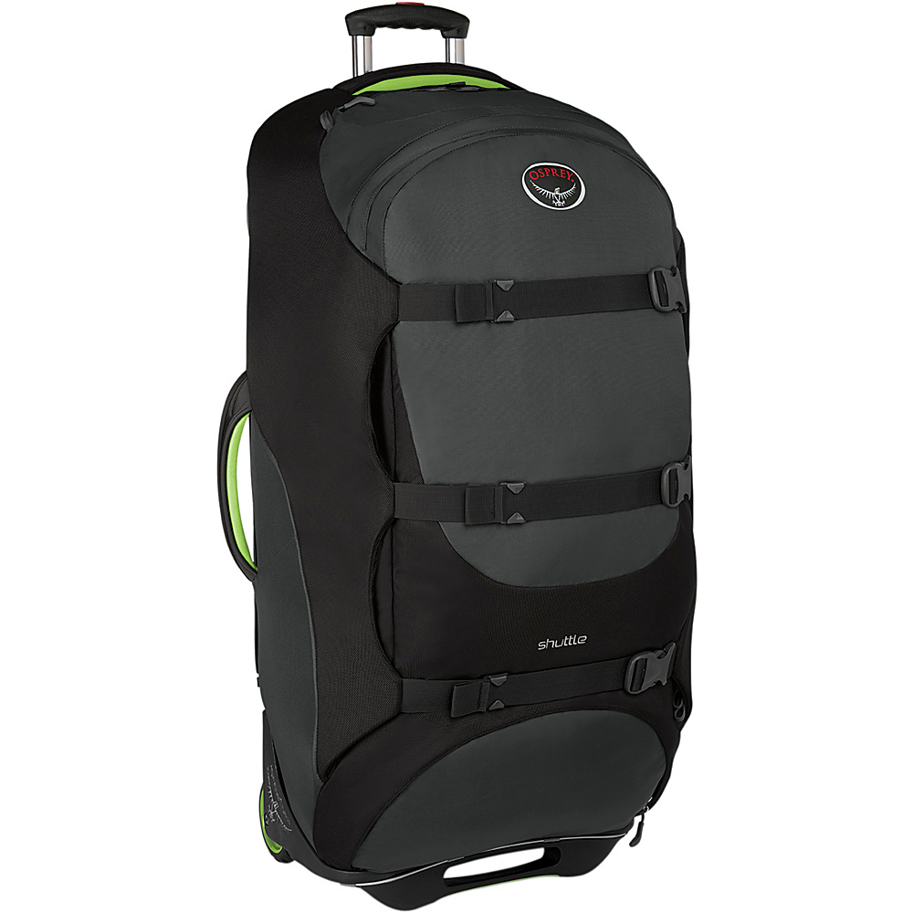 Osprey Shuttle 36 inch/130L Metal Grey - Osprey Softside Checked - Luggage, Softside Checked