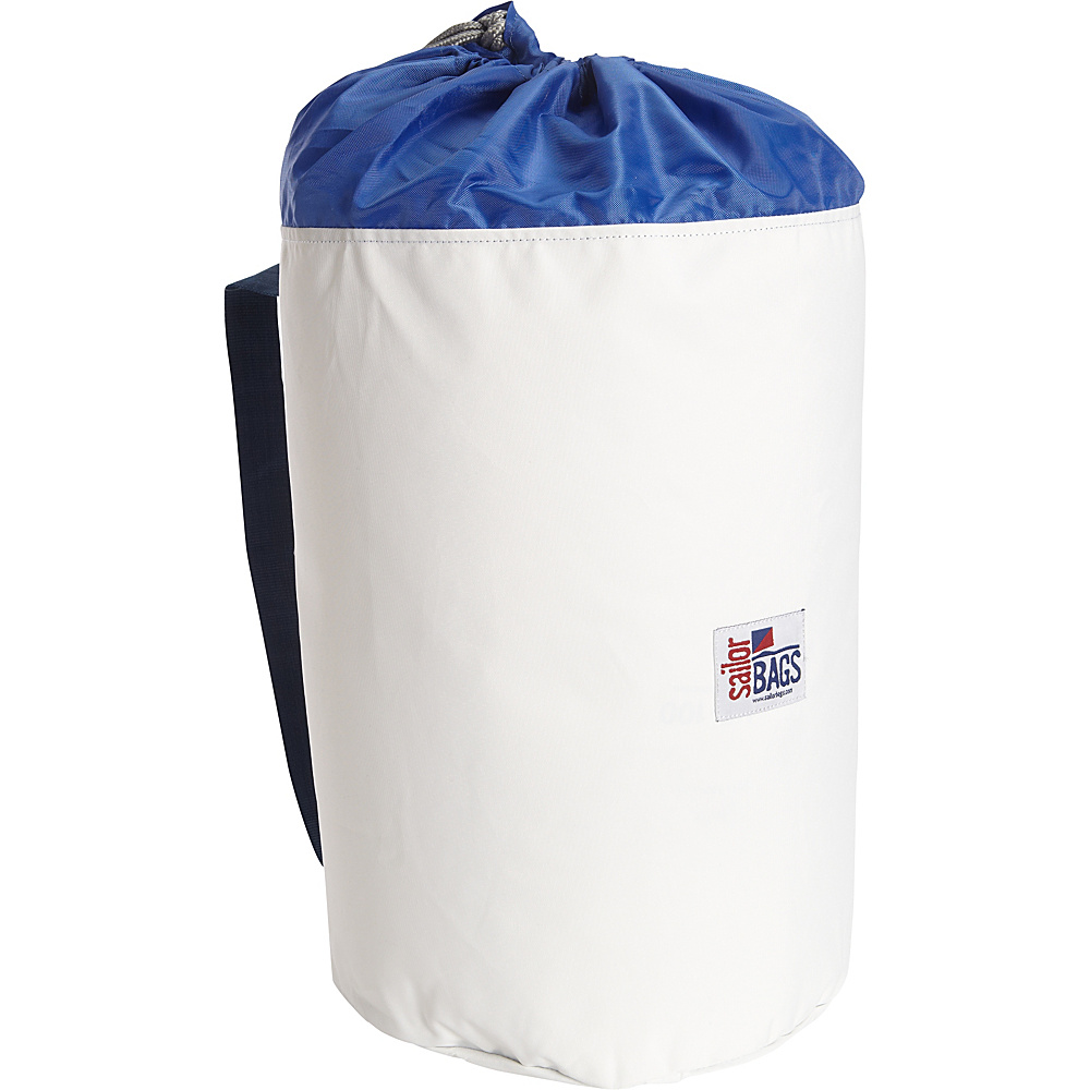 SailorBags Extra Large Stow Bag White Blue SailorBags Packable Bags