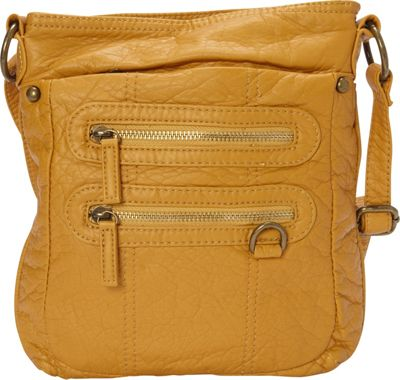 Ampere Creations Ampere Creations The Willa Crossbody Mustard - Ampere Creations Manmade Handbags