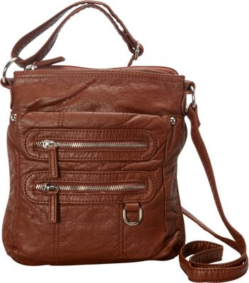 Ampere Creations The Willa Crossbody Brown - Ampere Creations Manmade Handbags