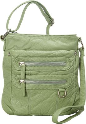 Ampere Creations The Willa Crossbody Seafoam Green - Ampere Creations Manmade Handbags