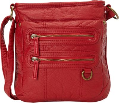 Ampere Creations The Willa Crossbody Red - Ampere Creations Manmade Handbags