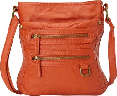 Ampere Creations Ampere Creations The Willa Crossbody Orange - Ampere Creations Manmade Handbags