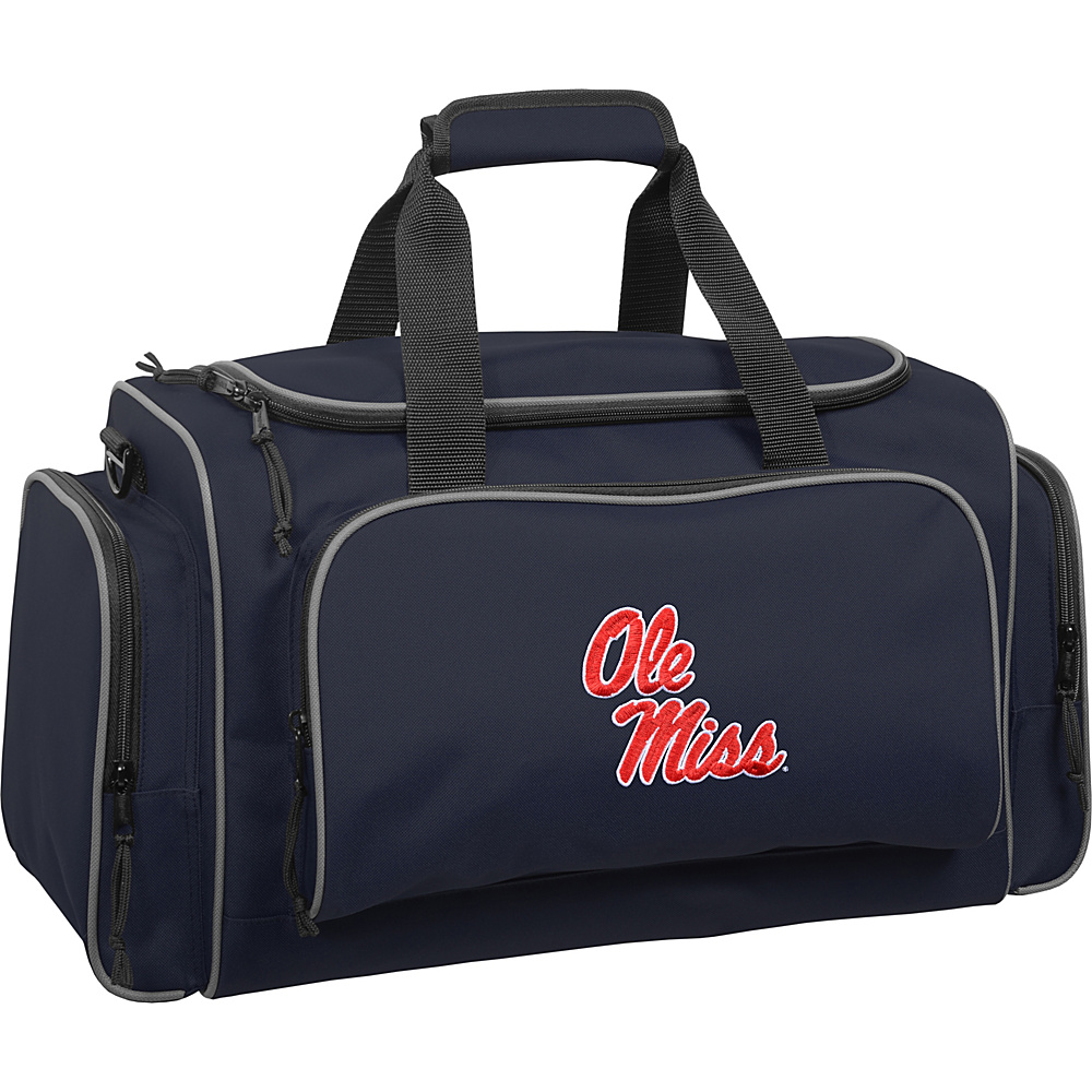 Wally Bags Ole Miss Rebels 21 Collegiate Duffel Navy Wally Bags Rolling Duffels