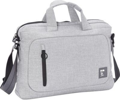 Nava Dot_Com 2.0 Briefcase Slim Light Grey/Black - Nava Non-Wheeled Business Cases