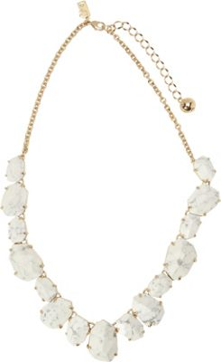 kate spade new york Quarry Gems Necklace White - kate spade new york Jewelry