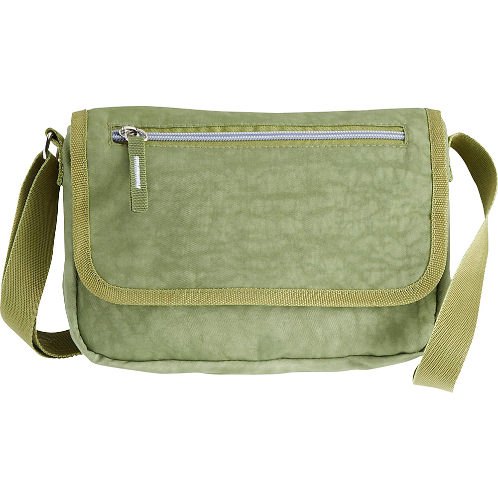 High Road AnyDay Crossbody Travel Bag Olive - High Road Fabric Handbags