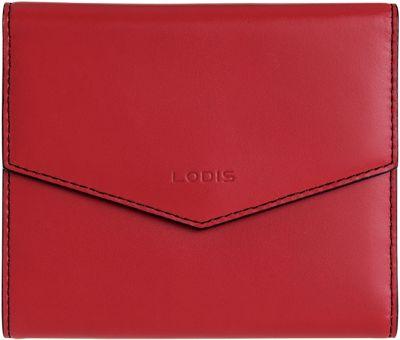 Lodis Audrey Premier Lana French Purse Red/Black - Lodis Women's Wallets
