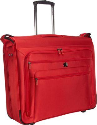 Delsey Helium Sky 2.0 Trolley Garment Bag Red - Delsey Garment Bags
