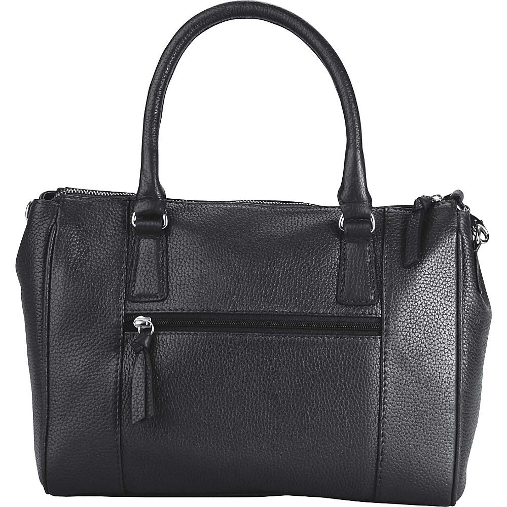 Hadaki Valerias Satchel Metallic Blue - Hadaki Leather Handbags - Handbags, Leather Handbags