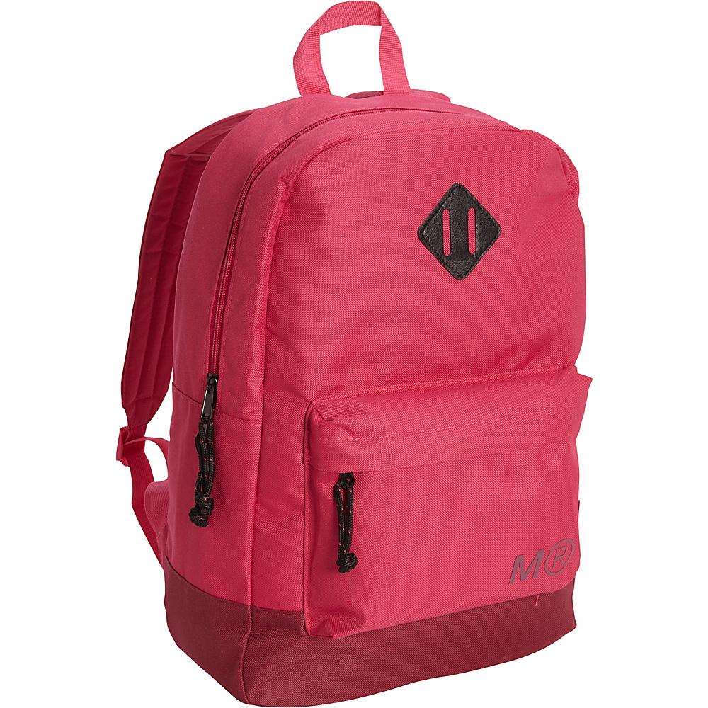 Miquelrius Raspberry Tone on Tone Large Backpack Raspberry Tone Miquelrius Everyday Backpacks