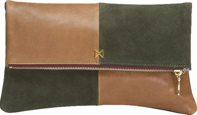 MOFE Esoteric Clutch Moss/Taupe