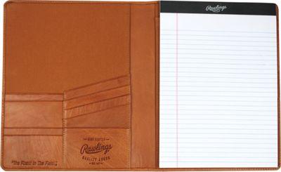 Rawlings Baseball Stitch Pad Folio/Tablet Case Tan - Rawlings Electronic Cases