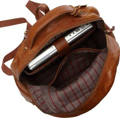 Rawlings Rugged Backpack Cognac - Rawlings Business & Laptop Backpacks