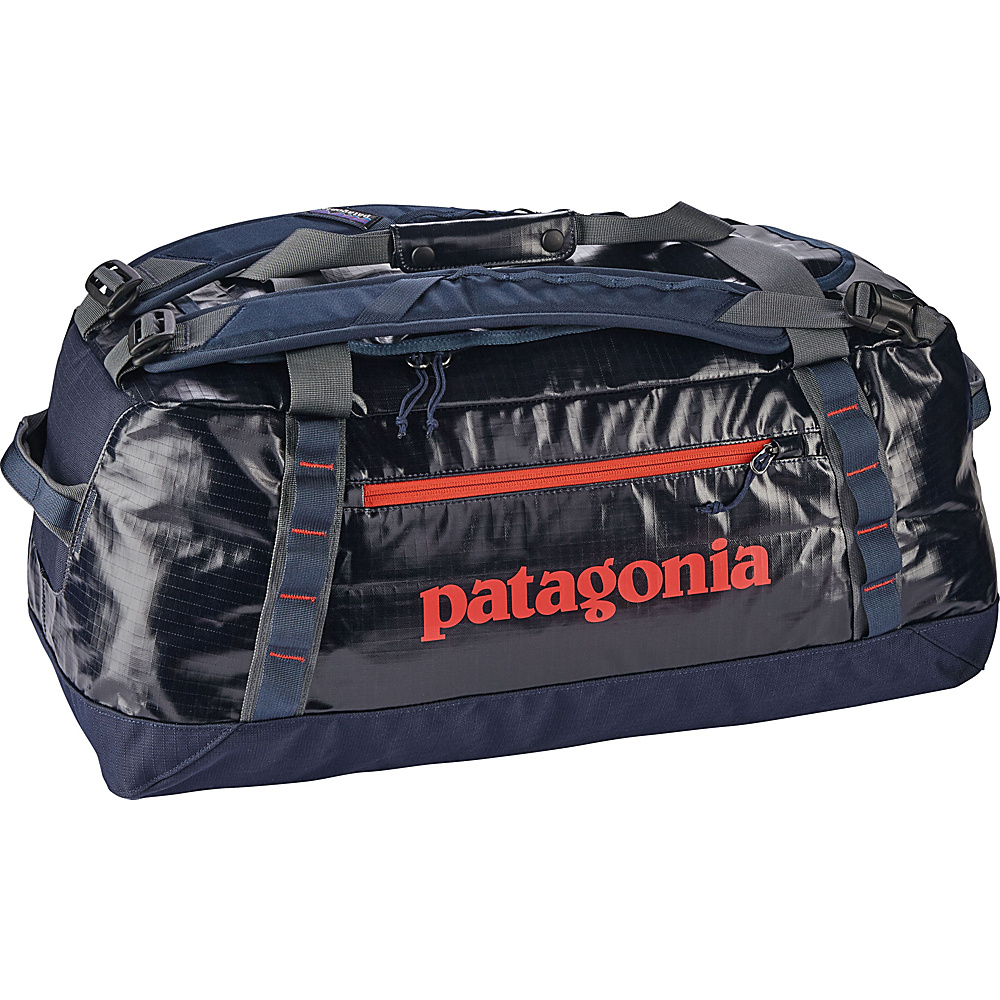 Patagonia Black Hole Duffle 60L Navy Blue w/Paintbrush Red - Patagonia Outdoor Duffels - Duffels, Outdoor Duffels