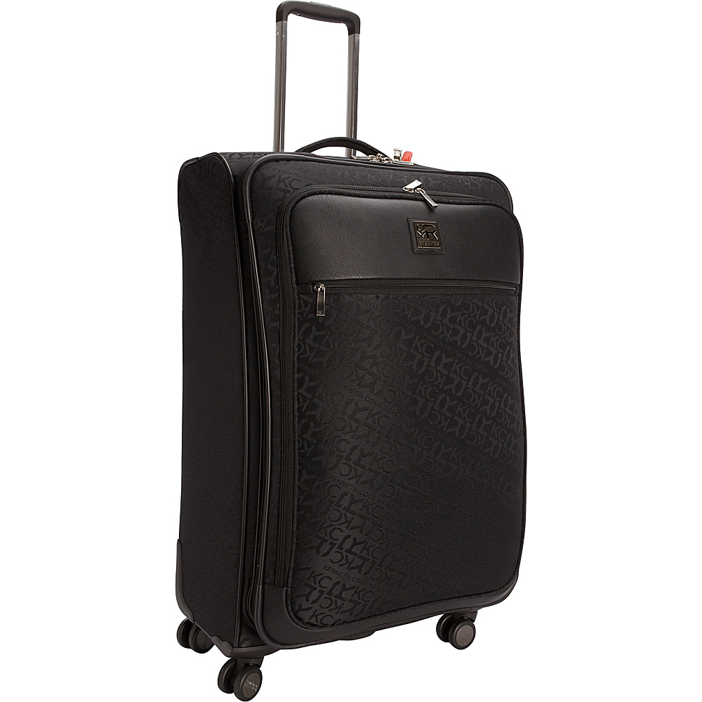 """Kenneth Cole Reaction Copy That 28"""" Expandable Spinner Black - Kenneth Cole Reaction Large Rolling Luggage"""