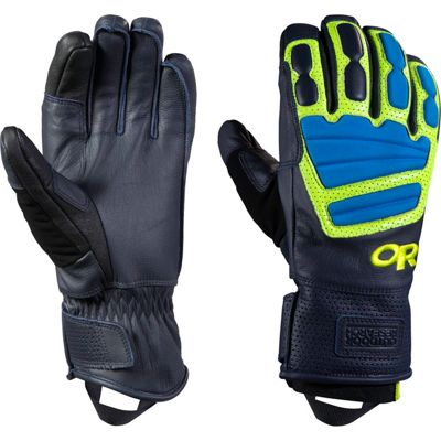 Outdoor Research Mute Sensor Gloves Night/Lemongrass/Hydro – SM - Outdoor Research Gloves