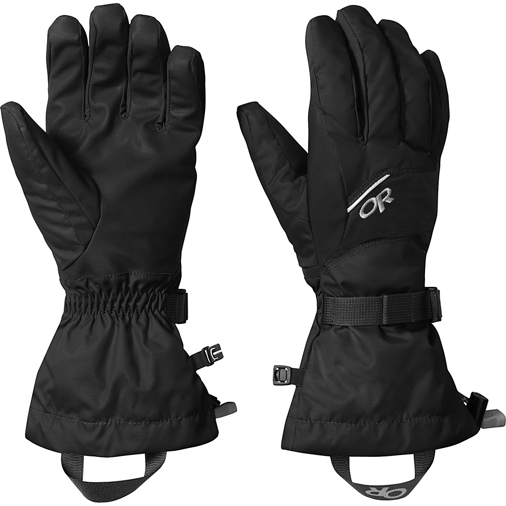 Outdoor Research Adrenaline Gloves L - Black - Outdoor Research Hats/Gloves/Scarves - Fashion Accessories, Hats/Gloves/Scarves