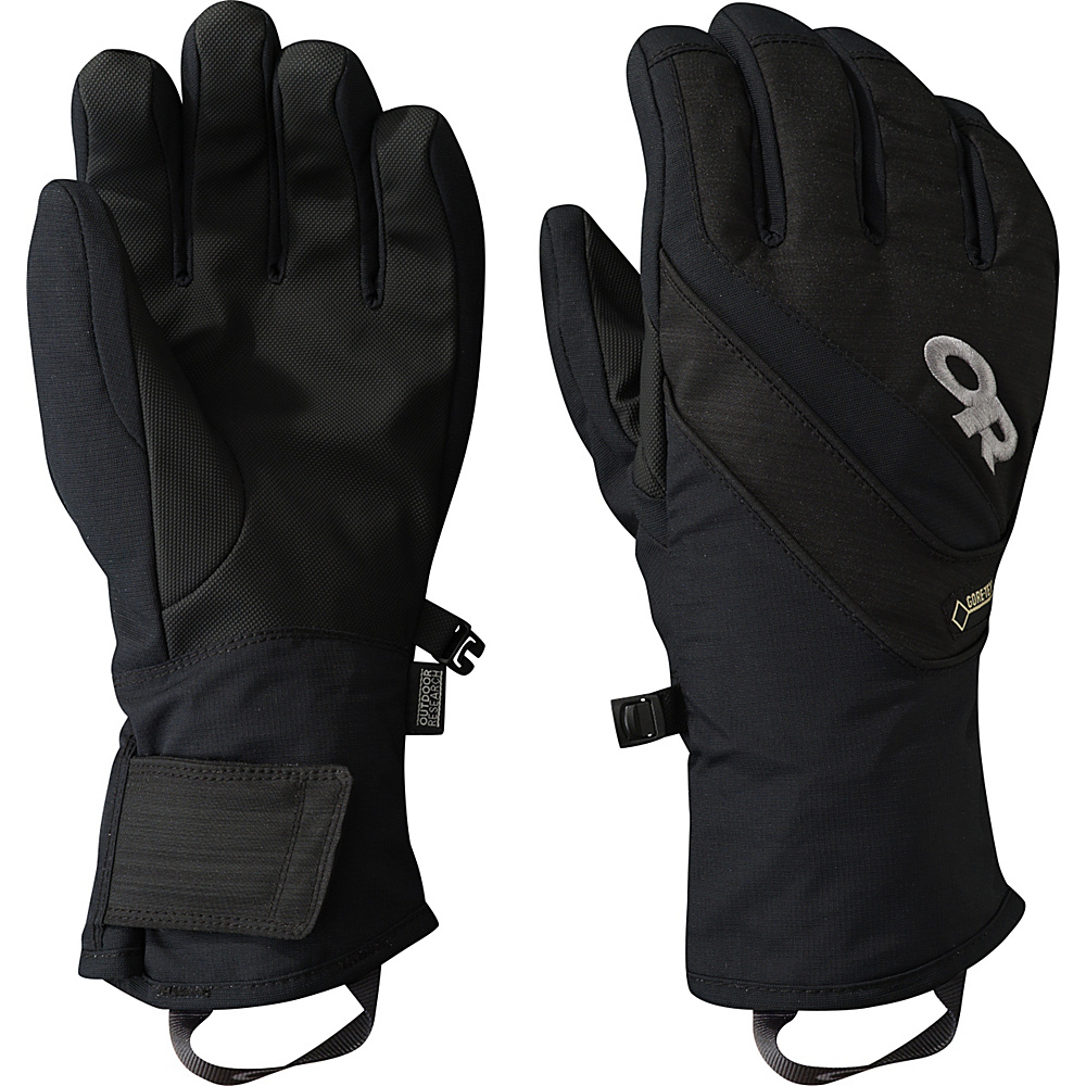 Outdoor Research Centurion Gloves L - Black - Outdoor Research Hats/Gloves/Scarves - Fashion Accessories, Hats/Gloves/Scarves