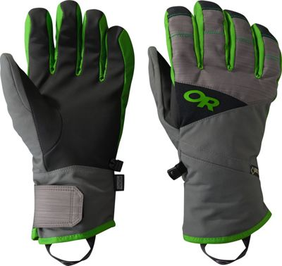 Outdoor Research Centurion Gloves Charcoal/Flash – LG - Outdoor Research Gloves