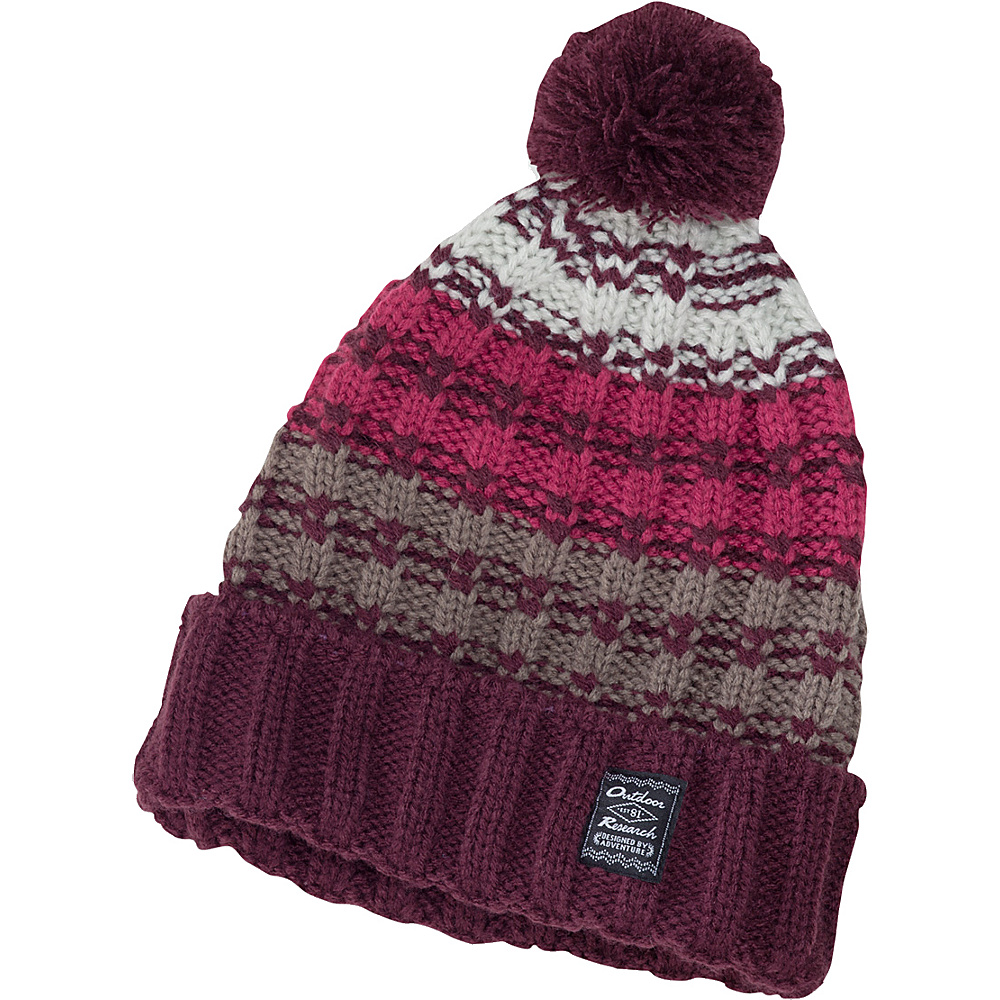 Outdoor Research Orianna Beanie One Size - Pinot – L/XL - Outdoor Research Hats/Gloves/Scarves - Fashion Accessories, Hats/Gloves/Scarves