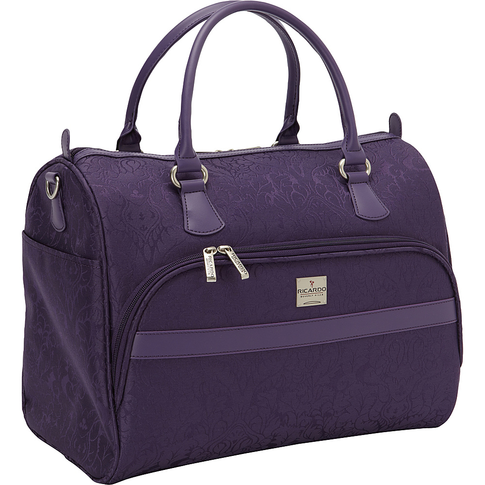 "Ricardo Beverly Hills Imperial 16"" Shoulder Tote Purple - Ricardo Beverly Hills Luggage Totes and Satchels"